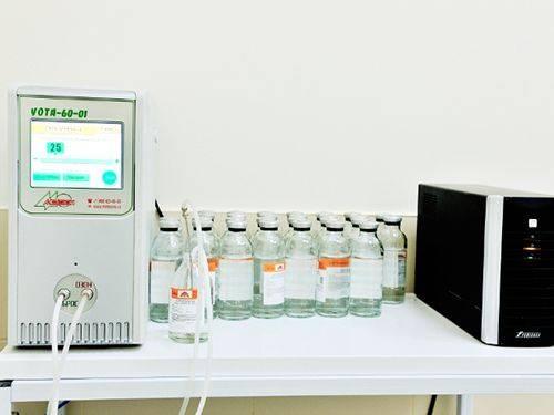 Озонированный физиологический раствор для введения внутривенно