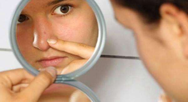 Боремся с высыпаниями на носу