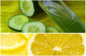 лимон огурец