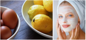 лимон яйцо маска