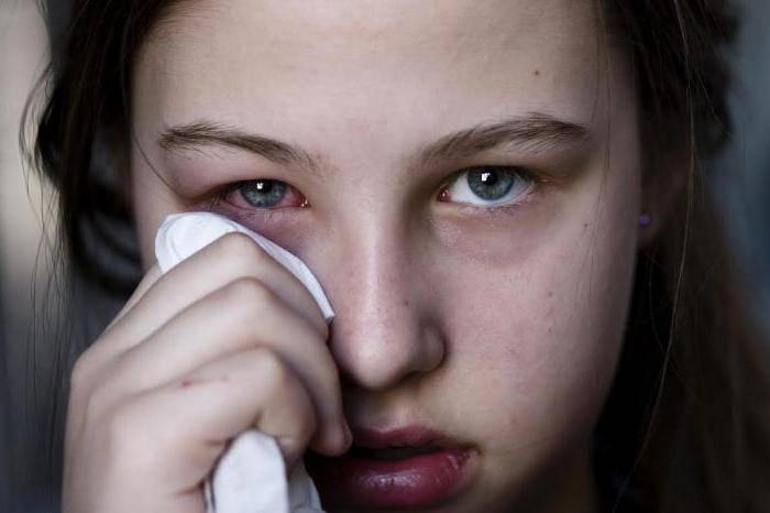 аллергия глаза чешутся и опухают