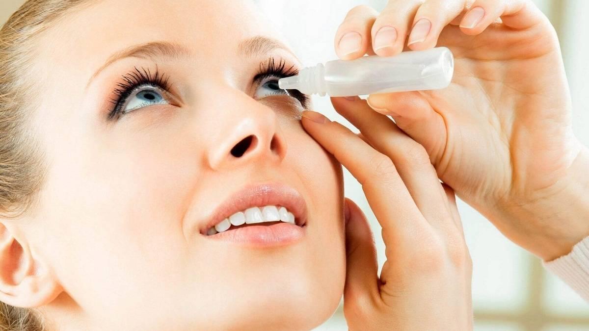 Для лечения аллергии на глазах применяют различные капли