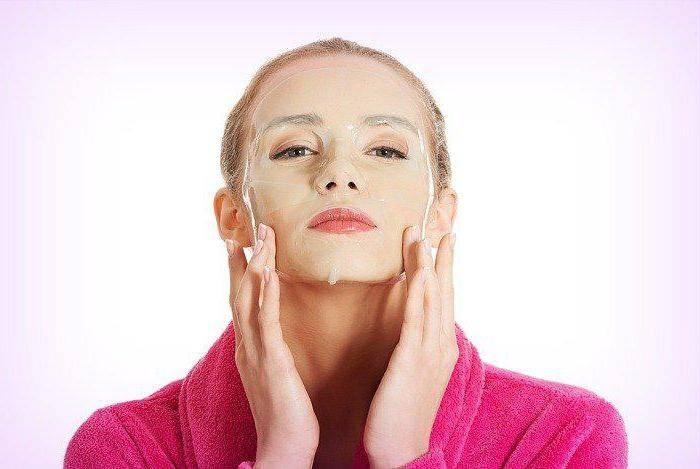 маска для выравнивания кожи лица