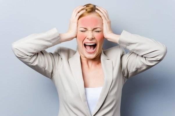 Горит лицо при стрессе