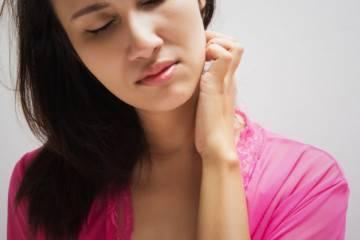 Покраснения на шее у женщин