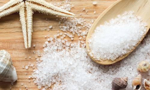 Морская соль для удаления черных точек