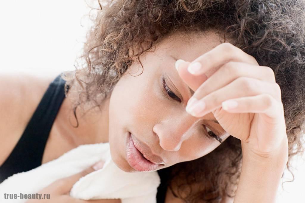 препараты от потливости головы и лица