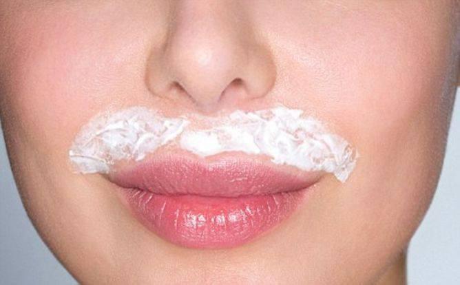 как осветлить усики над верхней губой перекисью водорода