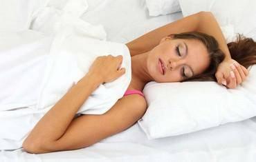 положение головы на подушке