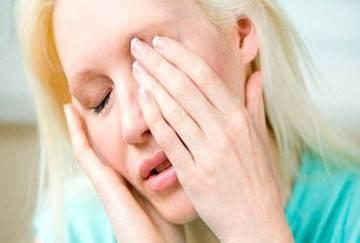 Раздражение вокруг глаз