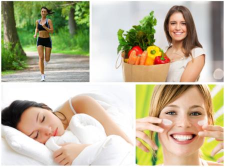 Здоровый образ жизни для кожи