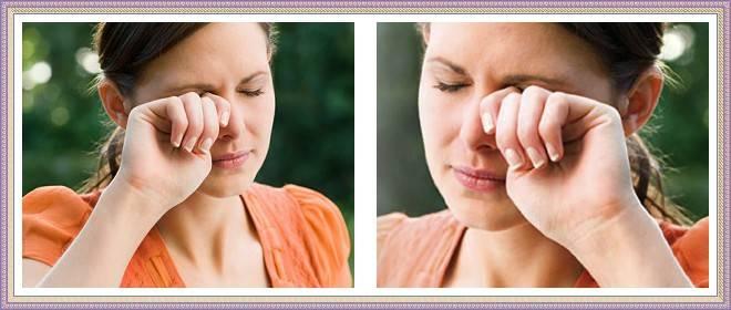 аллергия под глазом на косметику