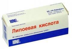 Крем с альфа липоевой кислотой