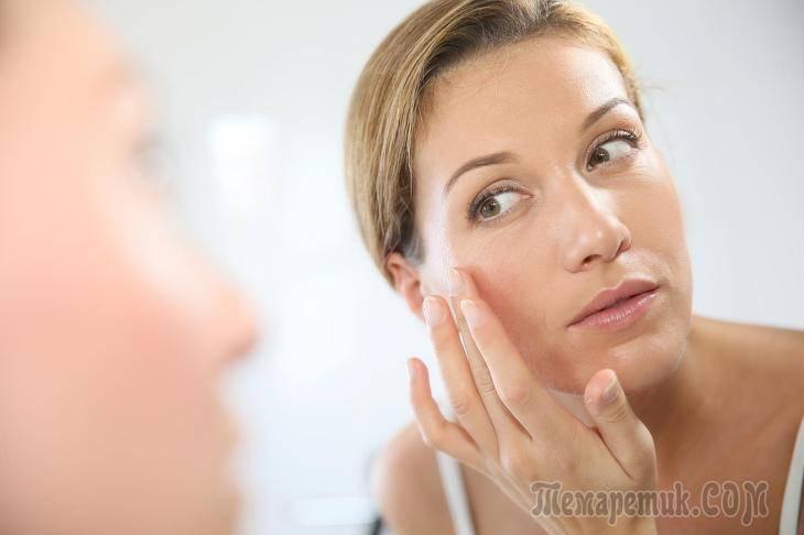 Белые жировики на лице