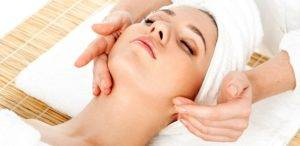 массаж для лица и шеи